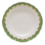 Fish Scale Jade Salad Plate