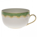 Fish Scale Jade Canton Cup