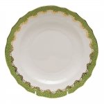 Fish Scale Evergreen Dessert Plate