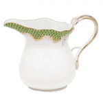 Fish Scale Evergreen 6 Ounce Creamer