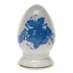 Chinese Bouquet Blue Single-Hole Pepper Shaker