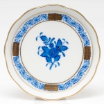 Chinese Bouquet Blue Coaster