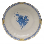Chinese Bouquet Blue Canton Saucer