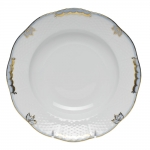Princess Victoria Light Blue Rim Soup Plate