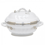 Princess Victoria Light Blue Tureen with Branch Handles