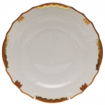 Princess Victoria Rust Salad Plate
