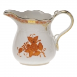 Chinese Bouquet Rust 6 Ounce Creamer