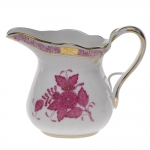 Chinese Bouquet Raspberry 6 Ounce Creamer