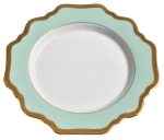 Anna\'s Palette Aqua Green Bread and Butter Plate
