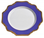 Anna\'s Palette Indigo Blue Bread and Butter Plate