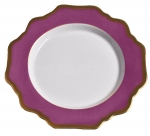 Anna\'s Palette Purple Orchid Bread and Butter Plate