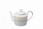 Arcades Grey Round Tea Pot