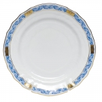 Chinese Bouquet Garland Blue Bread and Butter Plate