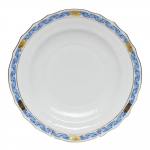 Chinese Bouquet Garland Blue Dessert Plate