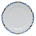 Chinese Bouquet Garland Blue Dinner Plate