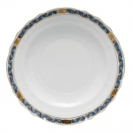 Chinese Bouquet Garland Black Sapphire Salad Plate