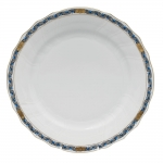 Chinese Bouquet Garland Black Sapphire Dinner Plate