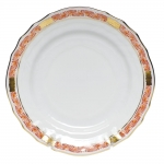 Chinese Bouquet Garland Rust Bread and Butter Plate
