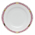 Chinese Bouquet Garland Raspberry Salad Plate