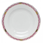 Chinese Bouquet Garland Raspberry Dessert Plate