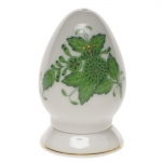 Chinese Bouquet Green Single-Hole Pepper Shaker