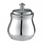 Albi Silver Plated Sugar Bowl with Lid