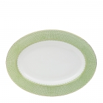 Apple Green Lace Platter