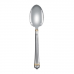 Aria Gold Rings Place Soup Spoon