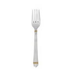 Aria Gold Rings Salad Fork