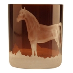 Mahogany Horse Double Old Fashion