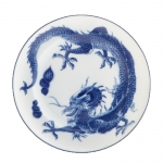 Blue Dragon Bread and Butter Plate