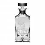 Bluegrass Square Decanter