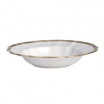 Carlton Gold Rim Soup Bowl