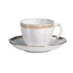 Carlton Gold Tea Cup Saucer