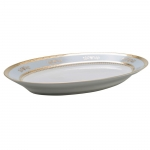 Orsay Powder Blue Oval Platter