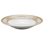 Orsay Powder Blue Rim Soup Plate