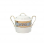 Orsay Powder Blue Covered Sugar Bowl