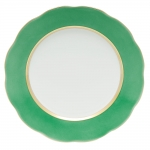 Silk Ribbon Mint Service Plate