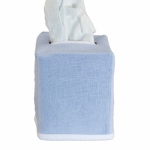 Chelsea Ice Blue Tissue Box Cover