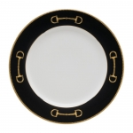 Cheval Black Salad Plate