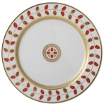 Constance Rouge Salad Plate
