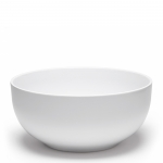 Diamond White Melamine Round Serving Bowl