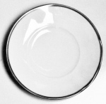 Simply Elegant Platinum Bread and Butter Plate