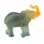 Grey and Amber Elephant