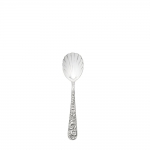 Repousse Sterling Sugar Spoon