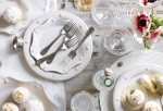 Berry & Thread Bright Satin Five Piece Place Setting