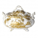Gold Aves Soup Tureen with Cover
