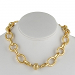 Gold Coast Plated 14K Yellow Gold Chain Necklace
