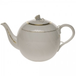 Golden Edge 60 Ounce Tea Pot