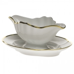 Gwendolyn Gravy Boat with Fixed Stand